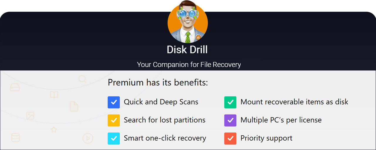 restore deleted folder with disk drill