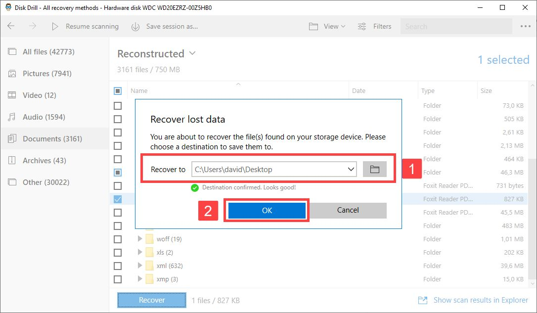recover files from external hard drive without formatting with disk drill