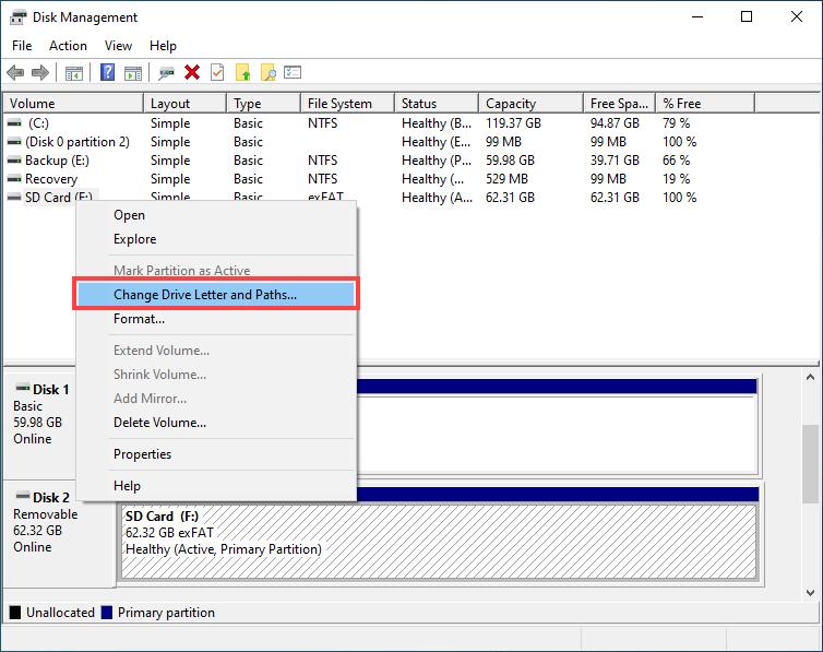 windows memory card repair tool