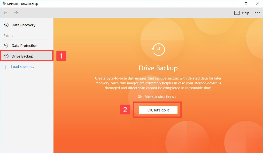 recover external hard disk without formatting from a backup