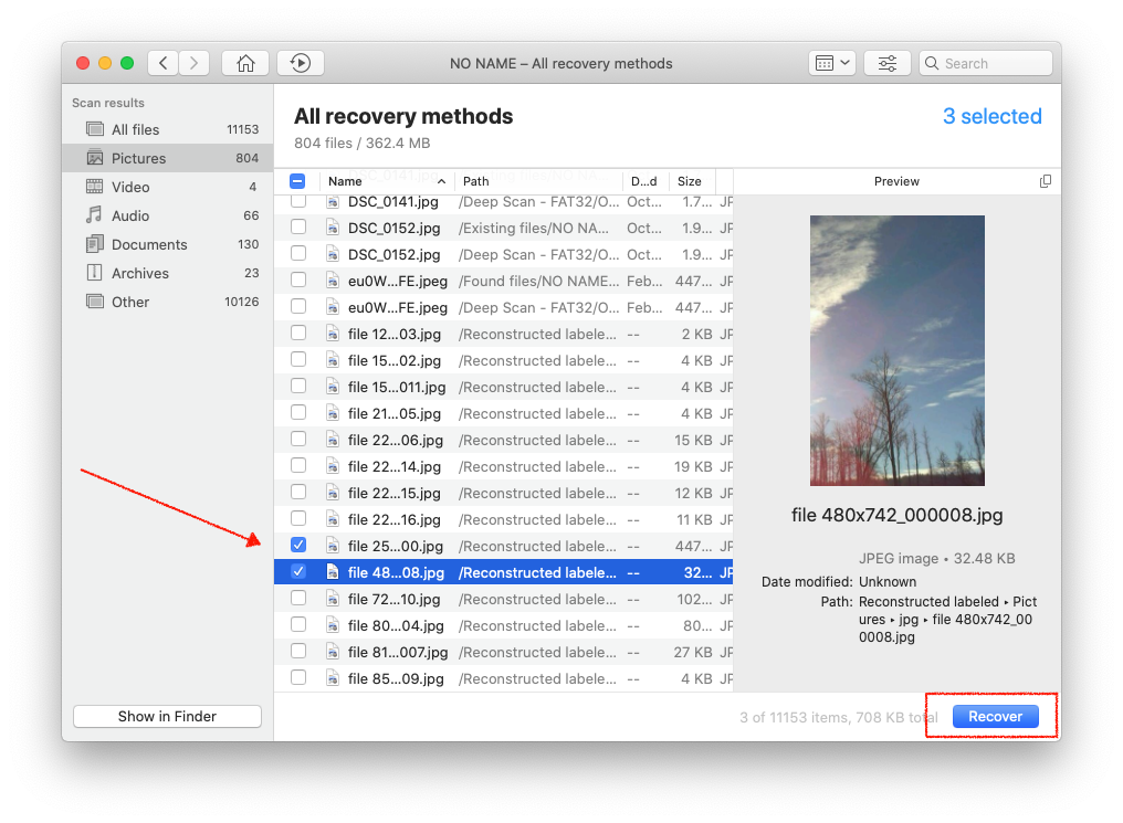recover sd card files on mac