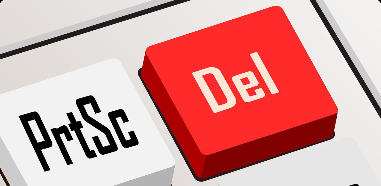delete button keyboard