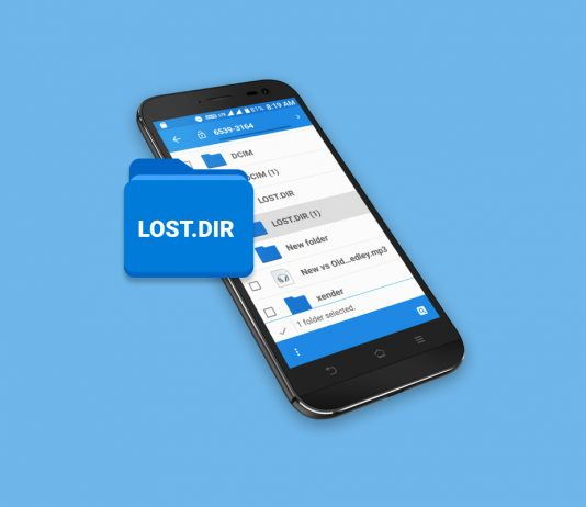 Lost dir files recovery