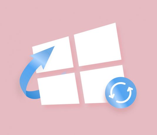 Recover files after windows update