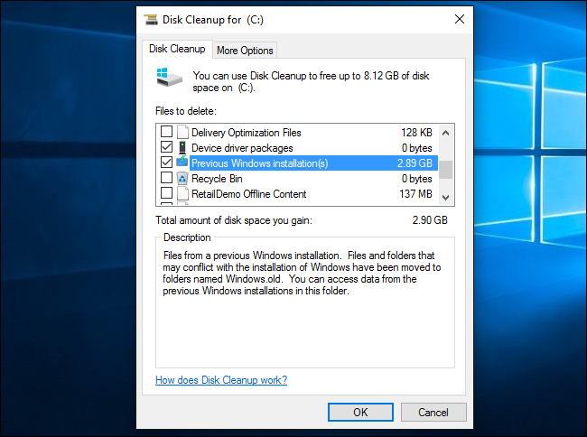 disk cleanup application