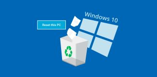 Recover files after factory reset