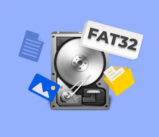 Recover files from FAT32