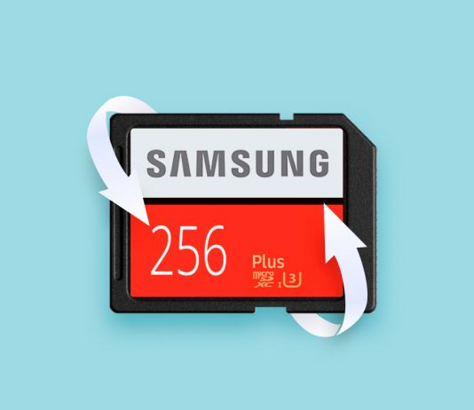 Recover data from Samsung sd card