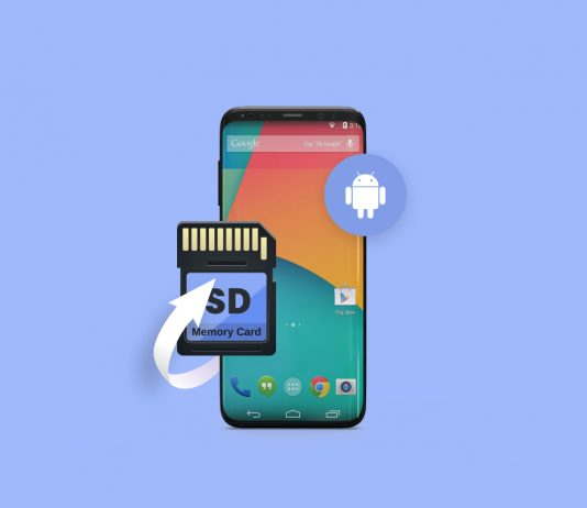 Fix corrupted android sd card