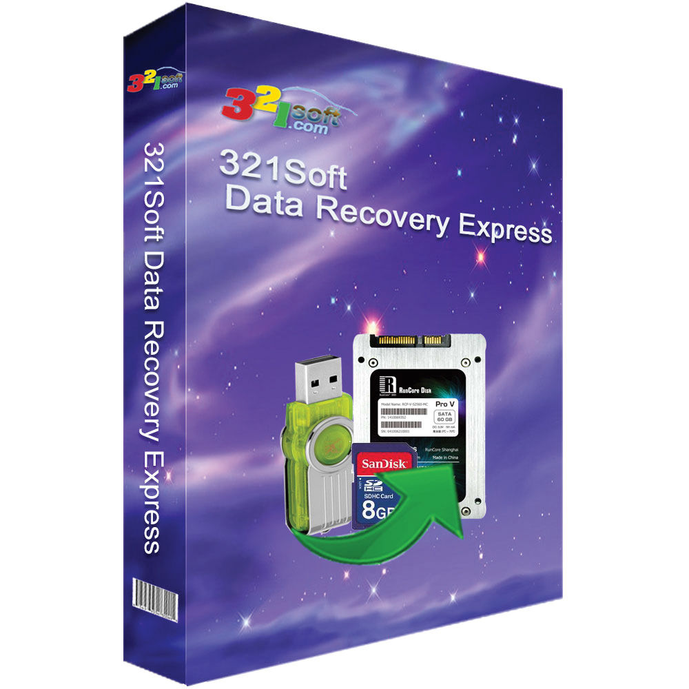 321Soft Data Recovery Express