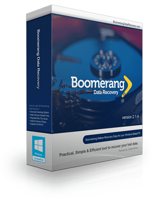 Boomerang Data Recovery Windows